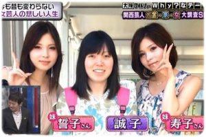 狩野誠子 双子妹